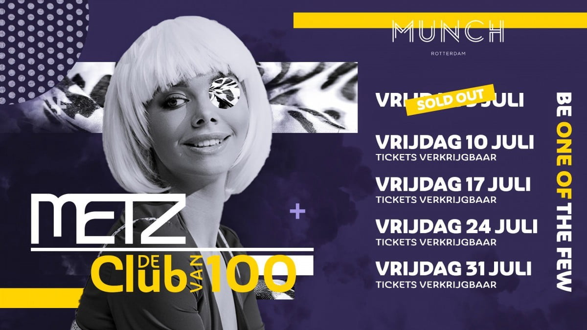 """METZ """"De Club Van 100"""""""